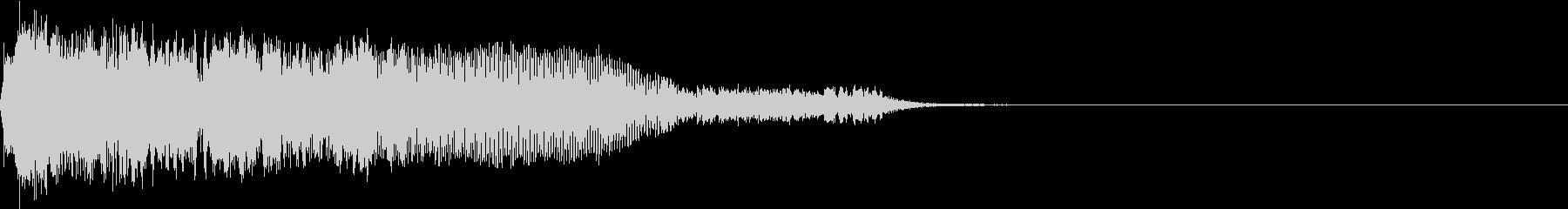 衝撃 ギター インパクト ノイズ 11の未再生の波形