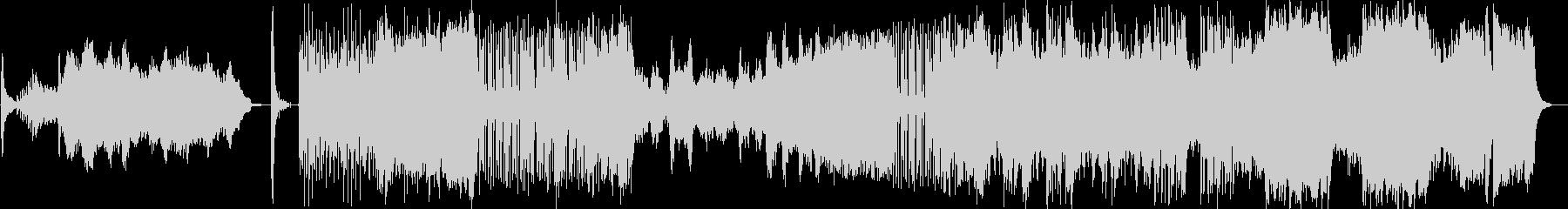 ドビュッシーのピアノ曲をオケアレンジの未再生の波形