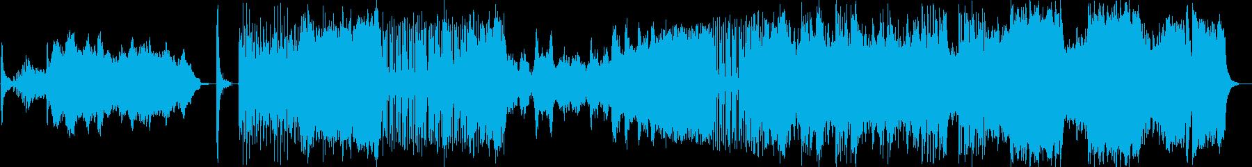 ドビュッシーのピアノ曲をオケアレンジの再生済みの波形