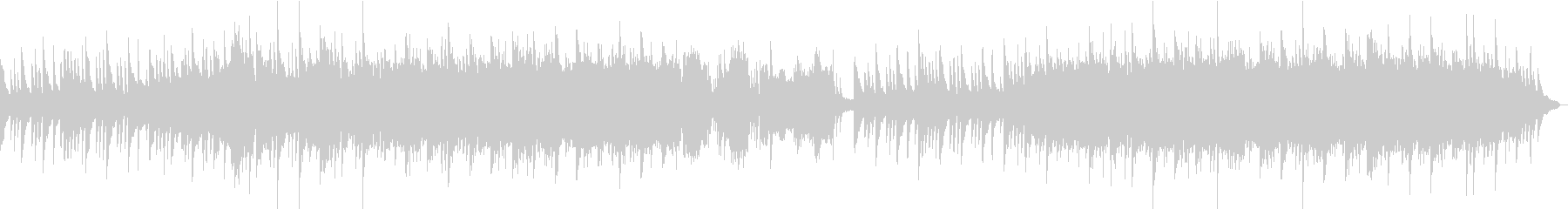 企業VPや映像にキラキラ感動ピアノBGMの未再生の波形