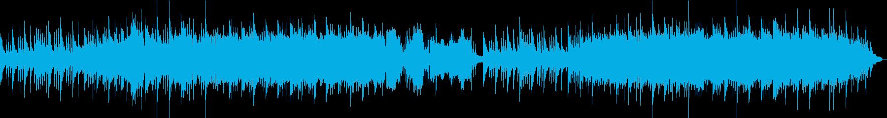 企業VPや映像にキラキラ感動ピアノBGMの再生済みの波形