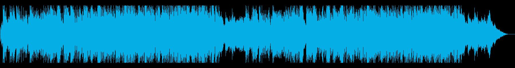 センチメンタルで華やかさのあるBGMの再生済みの波形