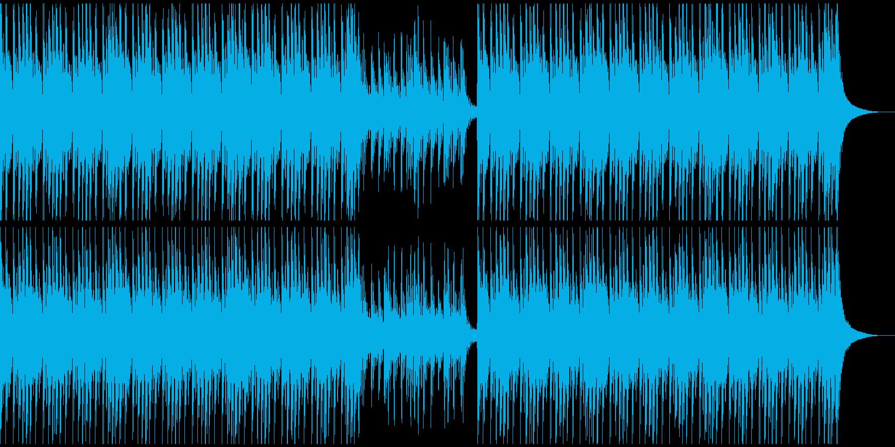 和太鼓や和楽器 力強い和風アンサンブルの再生済みの波形