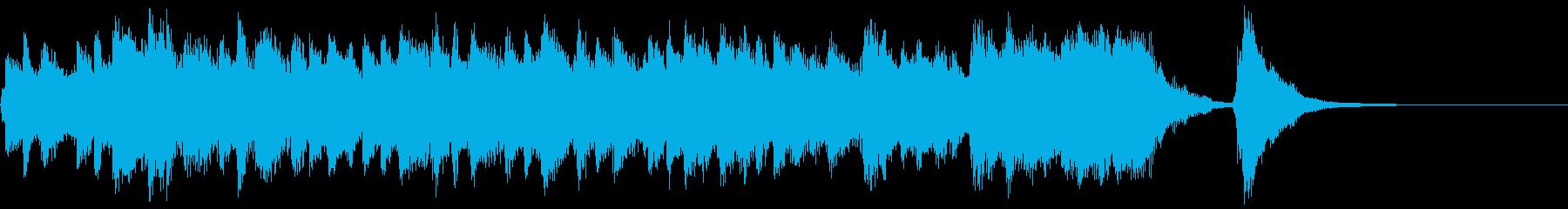 最新テクノロジーCMに合いそうジングルの再生済みの波形