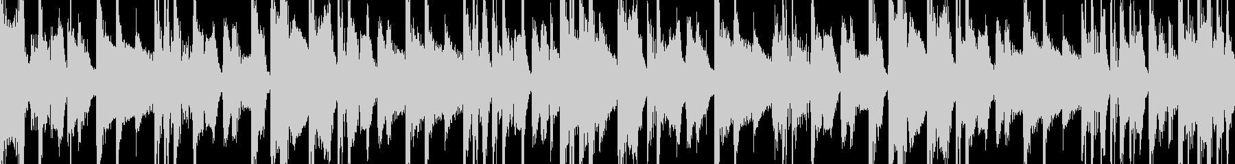 VOサンプル入りHIPHOPピアノループの未再生の波形