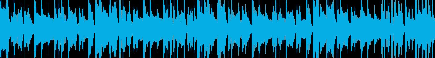 VOサンプル入りHIPHOPピアノループの再生済みの波形