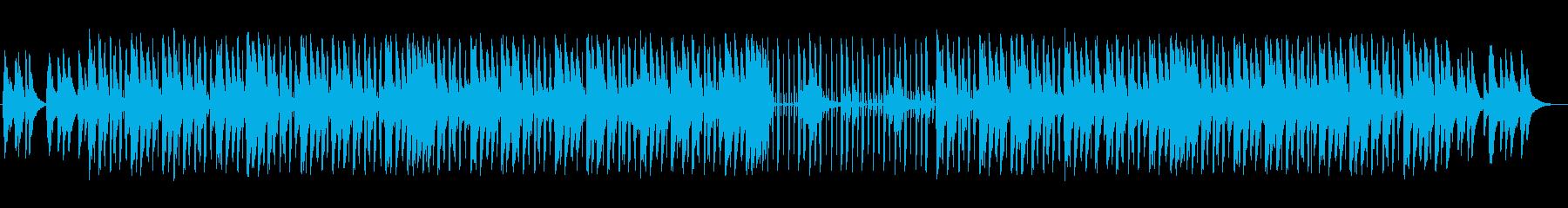 切ないピアノが印象的なヒップホップの再生済みの波形