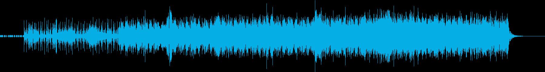理系の科学的イメージの曲〜beatなし〜の再生済みの波形