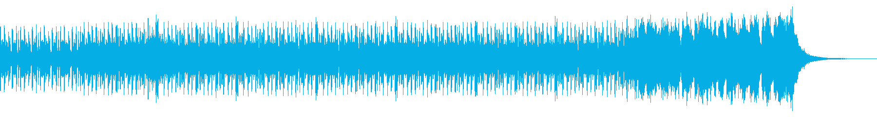 邪魔にならない 躍動的ジャズビートの再生済みの波形