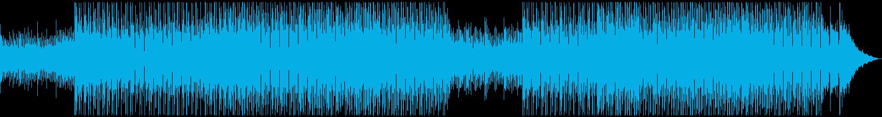 AI、テクノロジー、無機質クール、テクノの再生済みの波形