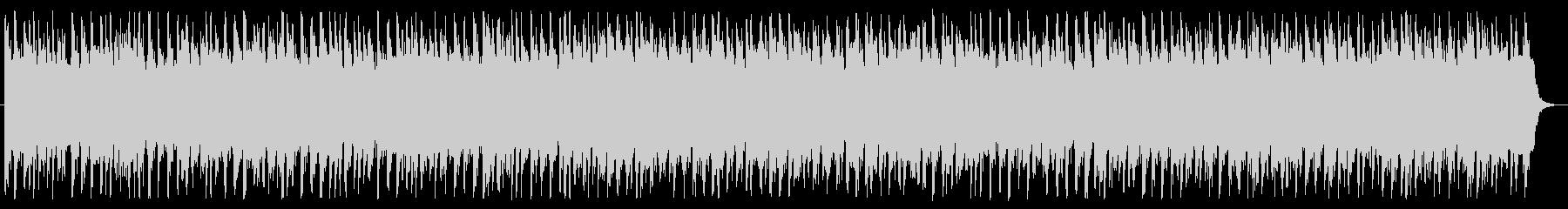 急ぐシーンで流れるBGMの未再生の波形