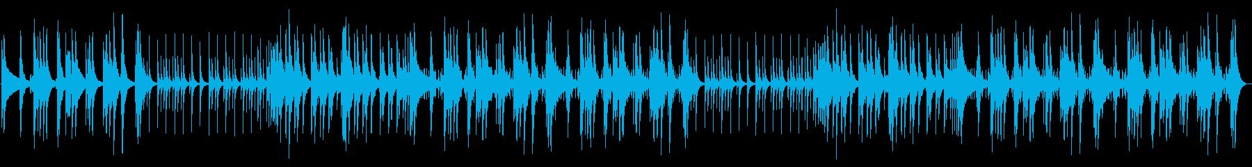 太鼓、チューブラーベル、シンバル、...の再生済みの波形