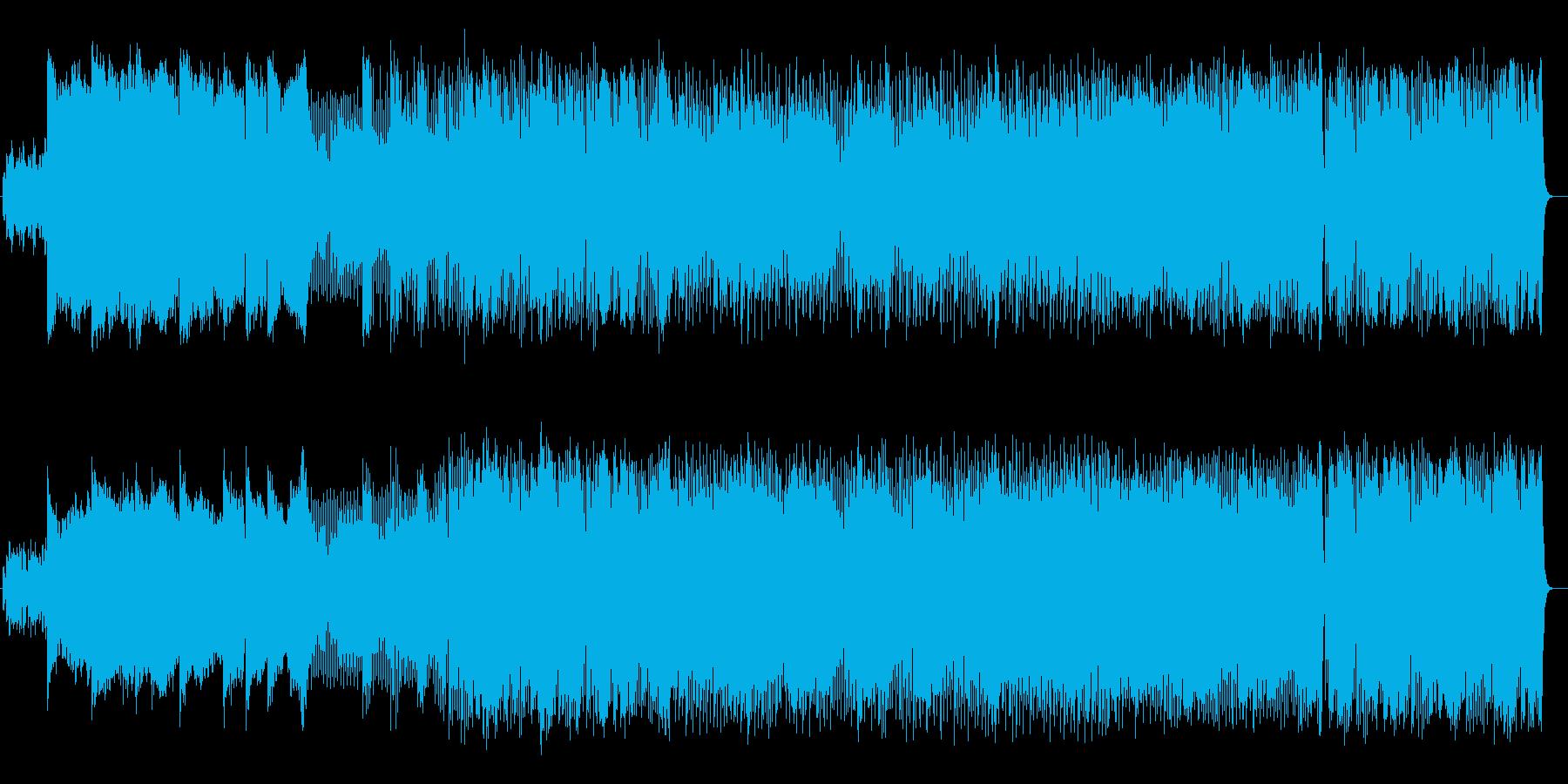 FMシンセを使った爽やかな8ビートの再生済みの波形