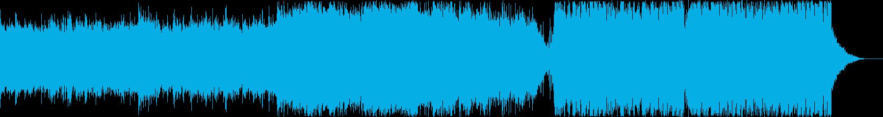 ギターリフが特徴的なキレイめEDMの再生済みの波形