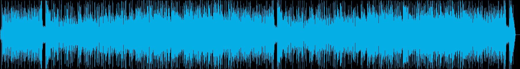 明るく爽やかで汎用性高いボサノバ風BGMの再生済みの波形