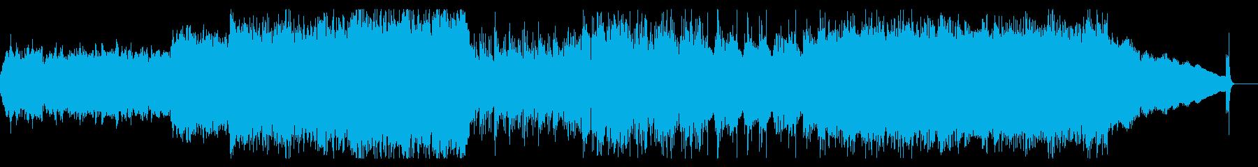 RPGのラスボス戦で流れるヘヴィメタルの再生済みの波形