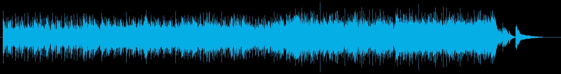 和風インスト3の再生済みの波形