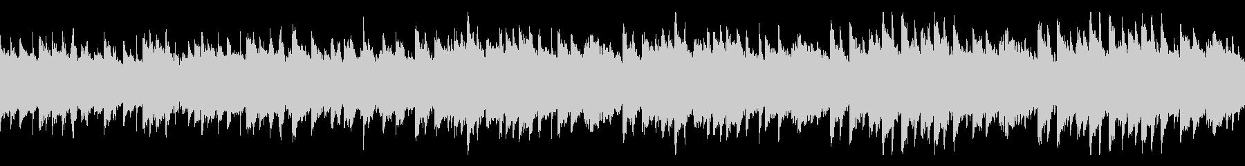 美しいく明るいメロディのピアノ 曲ループの未再生の波形