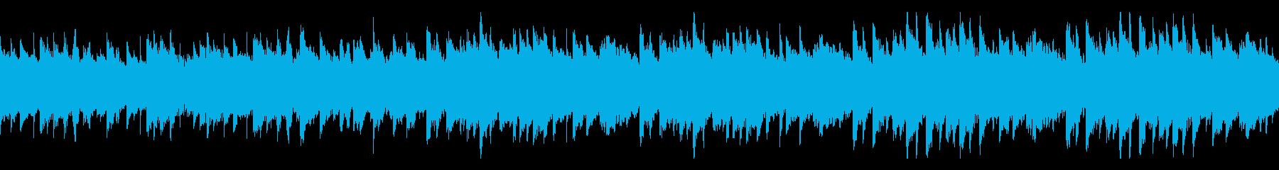 美しいく明るいメロディのピアノ 曲ループの再生済みの波形