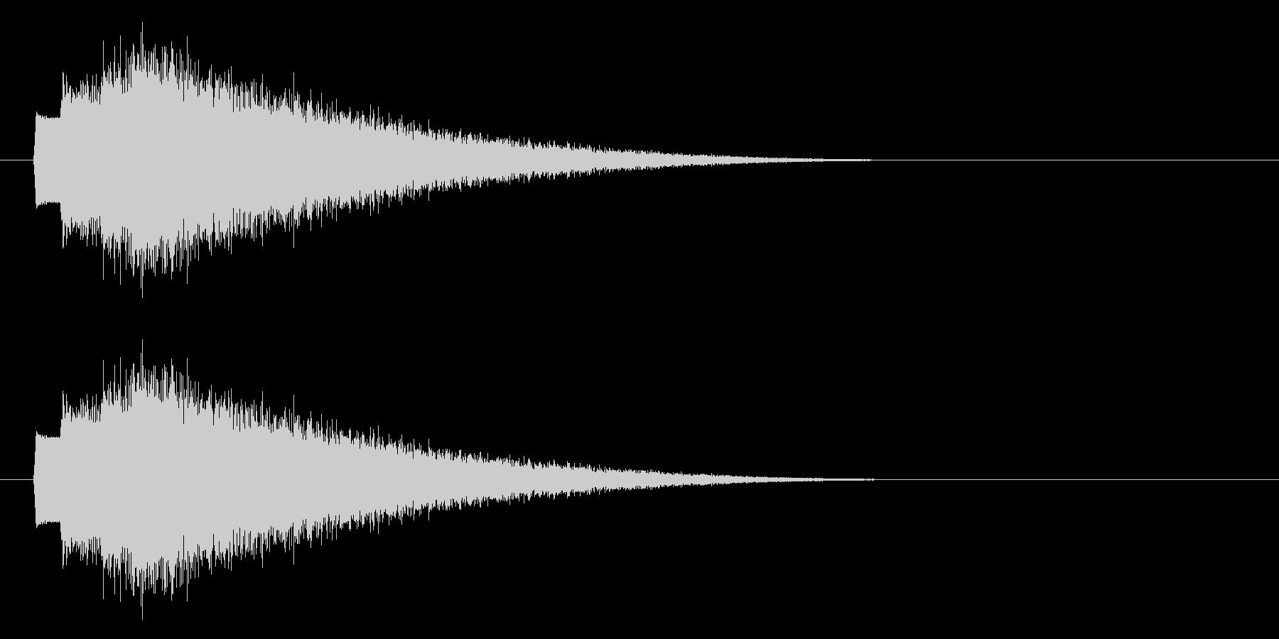 キラキラ/ファンタジー/スタート音の未再生の波形