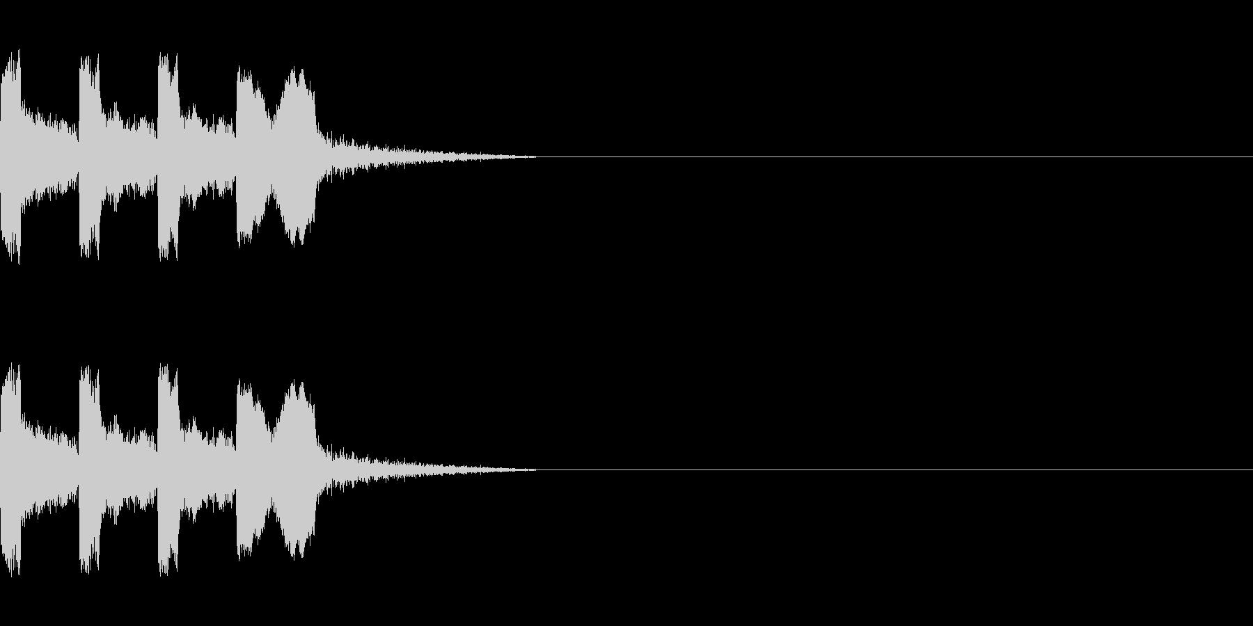 カウントダウン&スタート!(ラジオ風)の未再生の波形