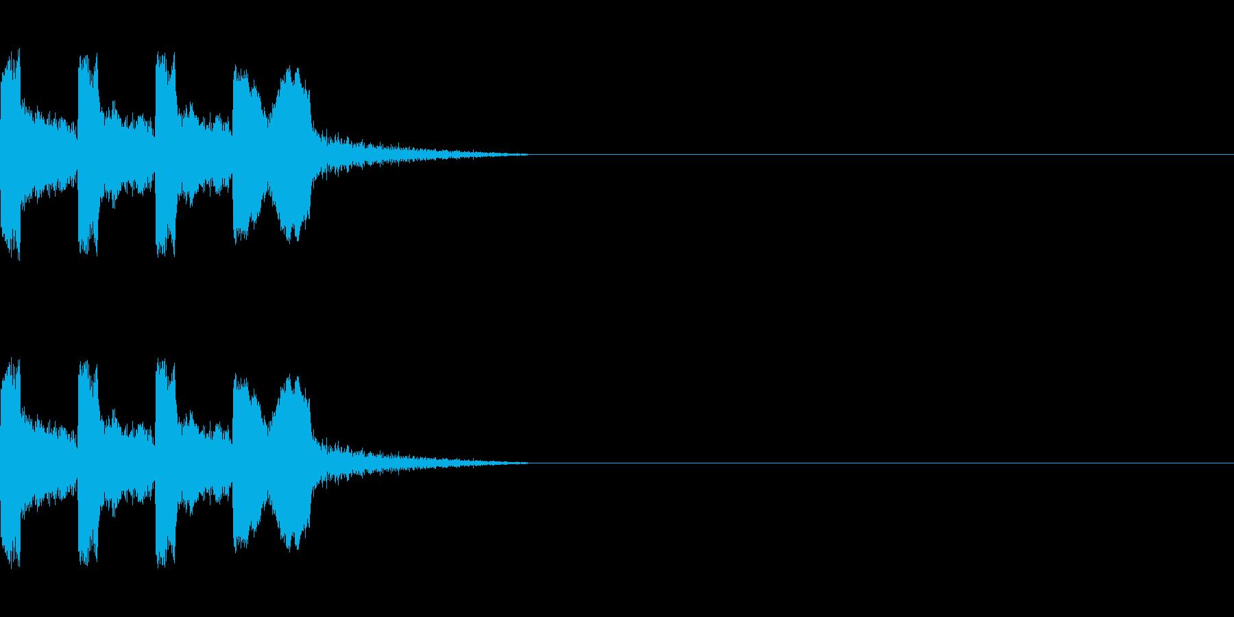 カウントダウン&スタート!(ラジオ風)の再生済みの波形