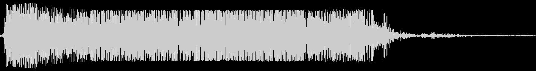ギターメタルパワーコードzp wの未再生の波形
