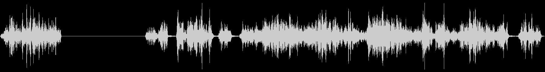 ロックスクリーン、ロックアゲインス...の未再生の波形