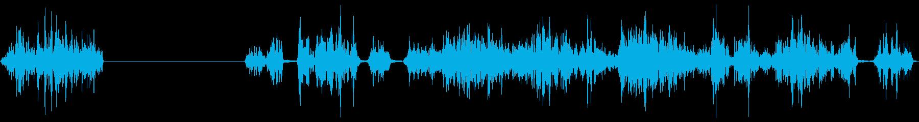 ロックスクリーン、ロックアゲインス...の再生済みの波形