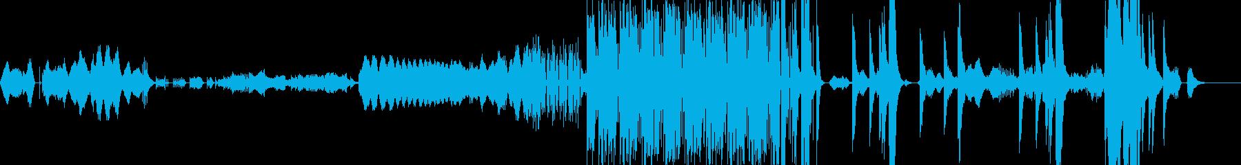 打楽器を中心とした3曲のアンサンブルの再生済みの波形