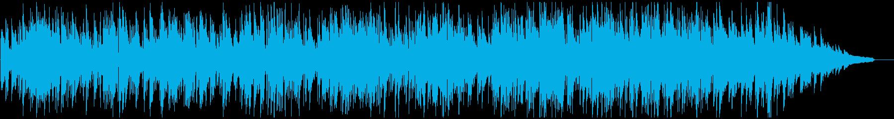 ランチタイムの爽やかなボサノバ・ジャズの再生済みの波形