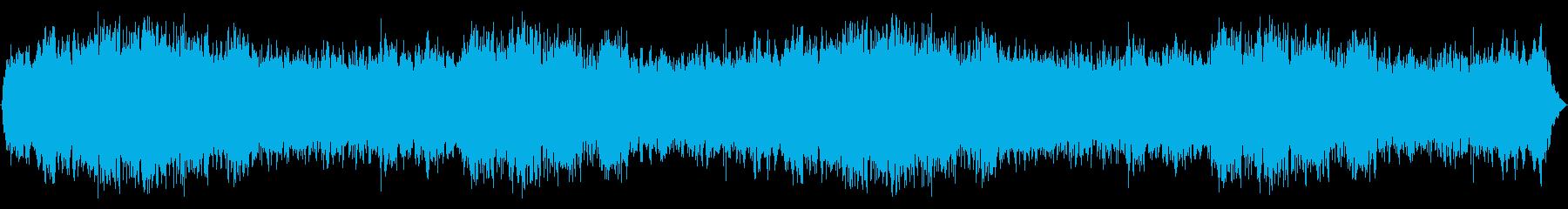 追い詰められる感じのBGSの再生済みの波形