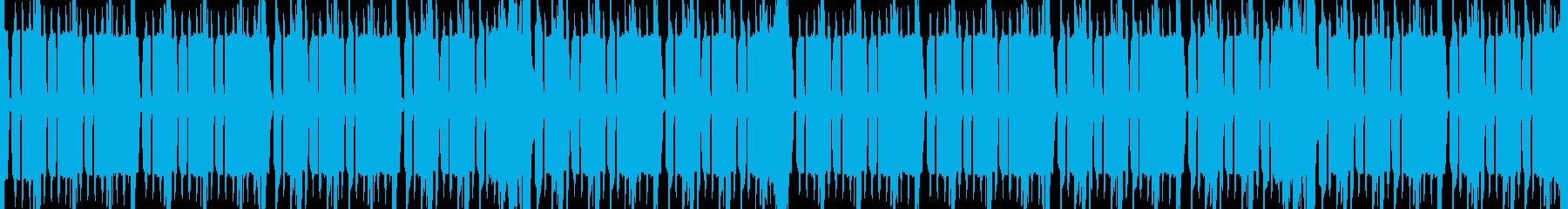 8bit・チップチューン・ピコピコの再生済みの波形