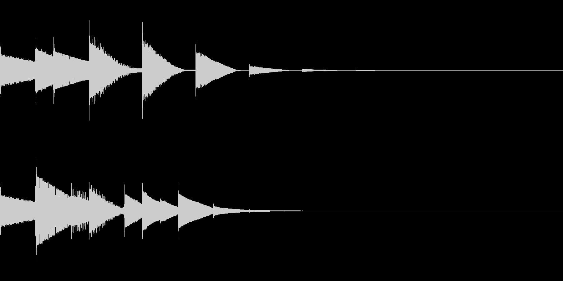 ピロリン(宿屋/ピコピコ/回復/魔法の未再生の波形