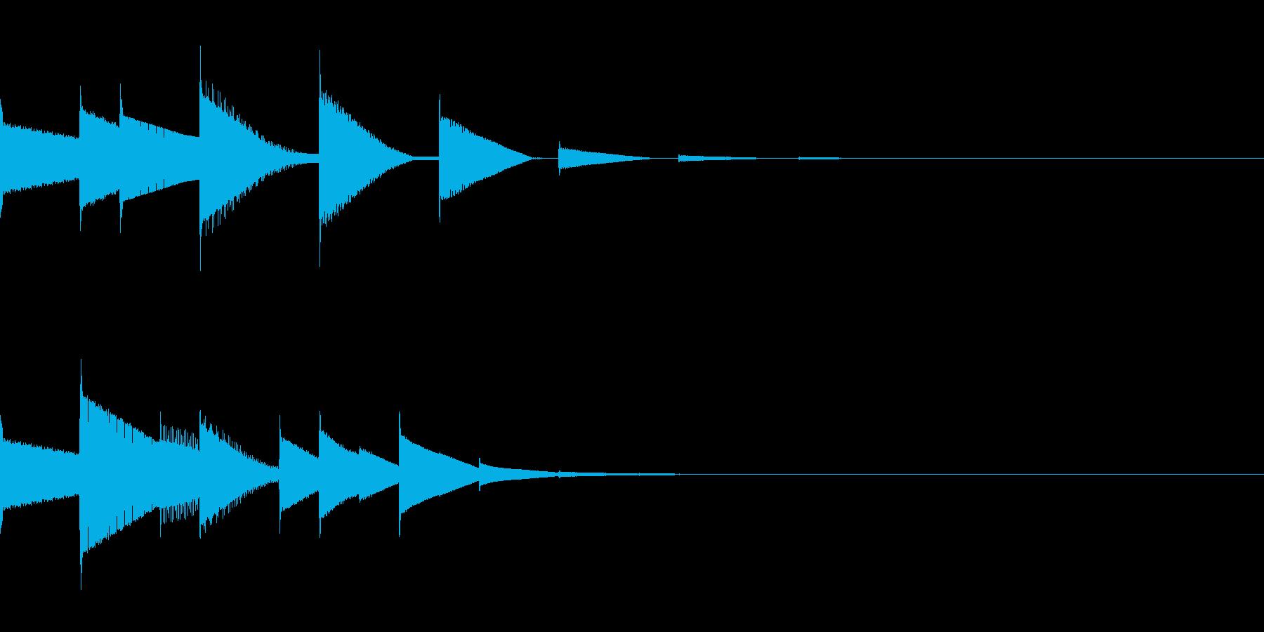 ピロリン(宿屋/ピコピコ/回復/魔法の再生済みの波形