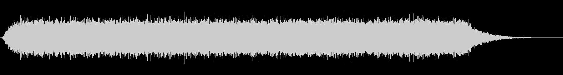 [生録音]電動モーターが回る(ロング)の未再生の波形