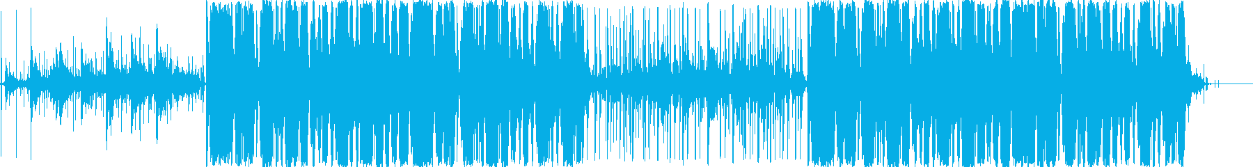 お天気雨をイメージしたLo-Fiの再生済みの波形