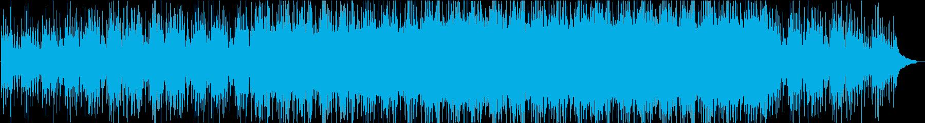 アコギで5月の風を表現した爽やかな曲の再生済みの波形