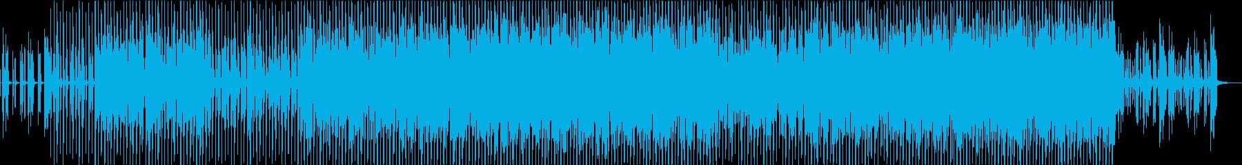 EDMクラブダンス系、ファンキーの再生済みの波形