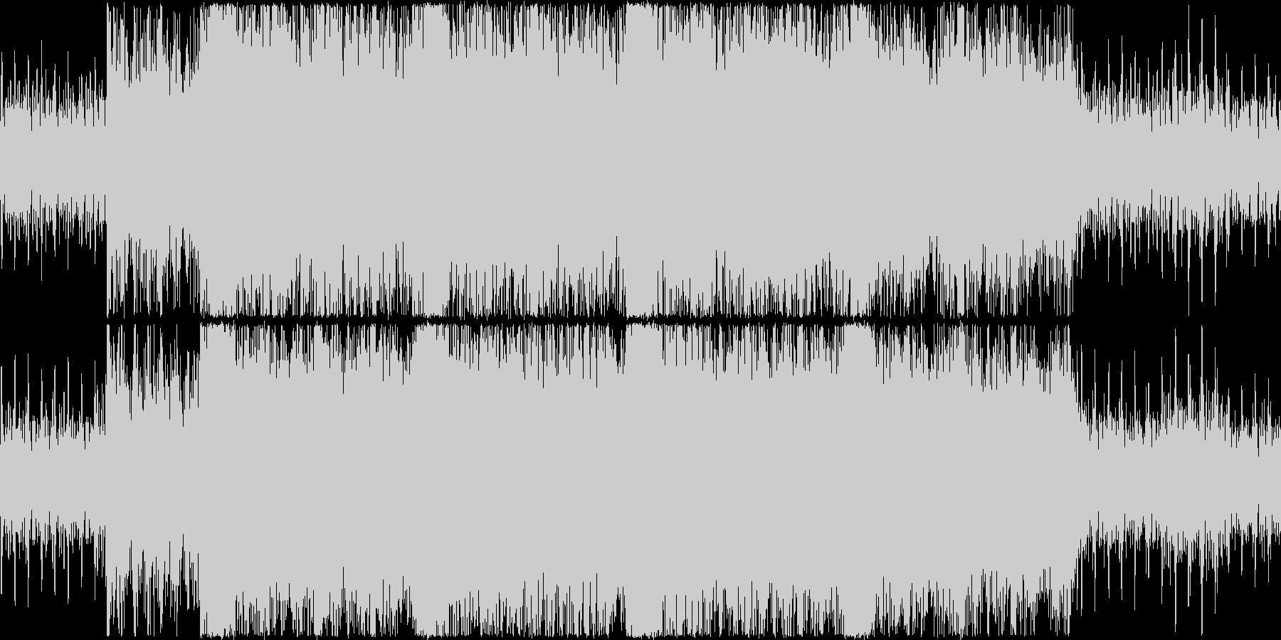 壮大で重厚感のあるシネマチックサウンドの未再生の波形