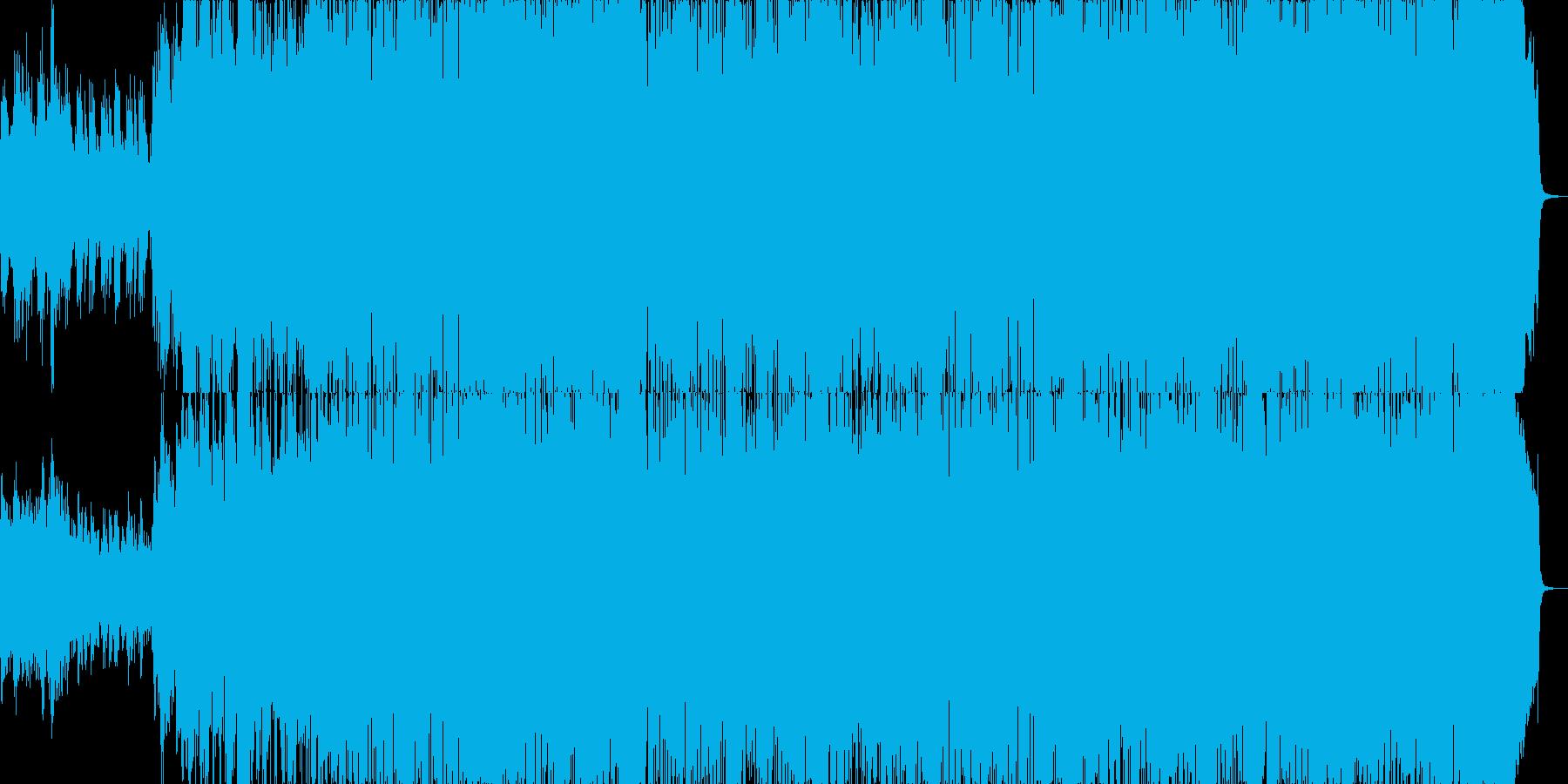 キラキラした好印象アコースティックポップの再生済みの波形