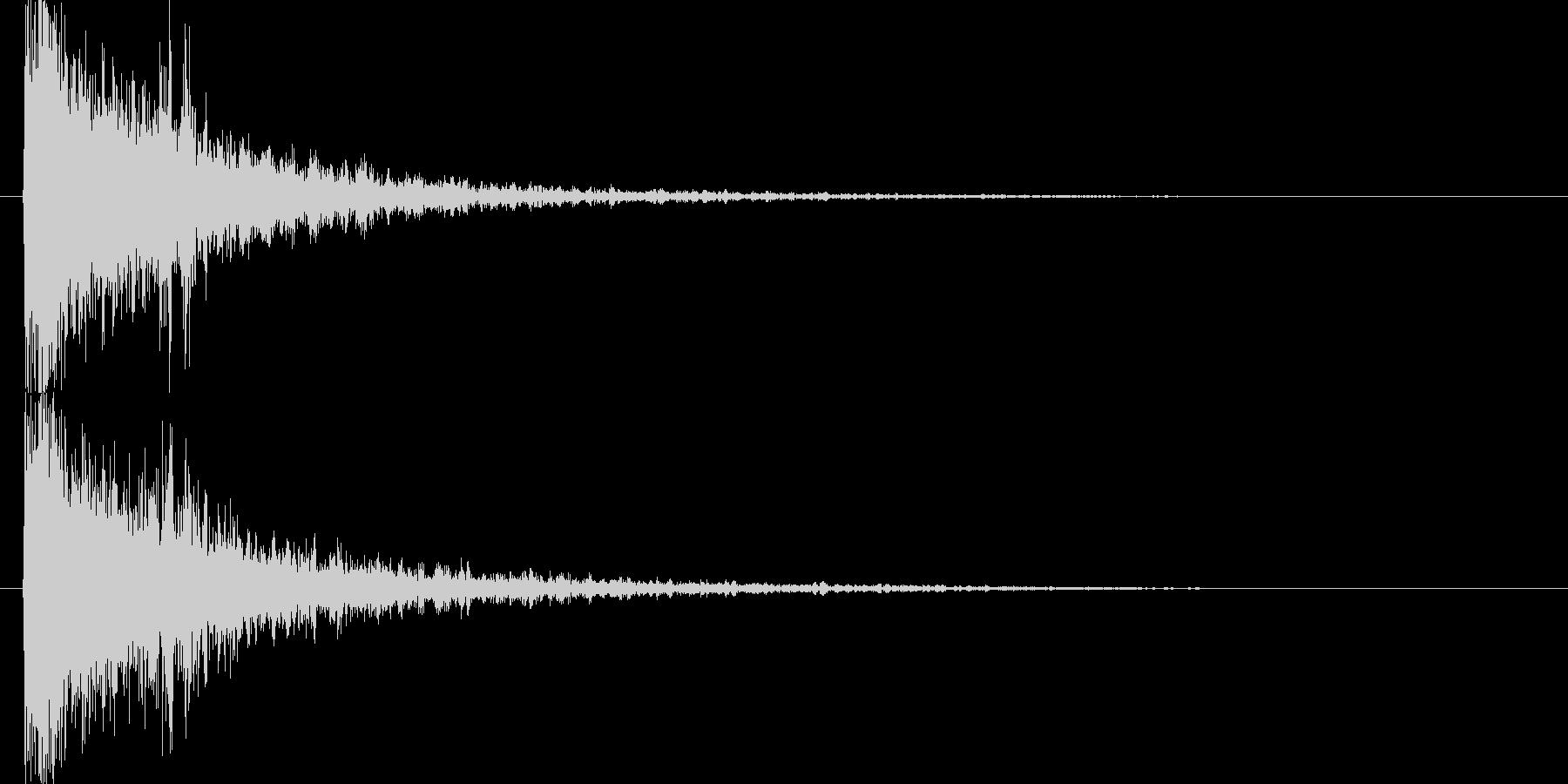 映画告知音145 ドーンの未再生の波形