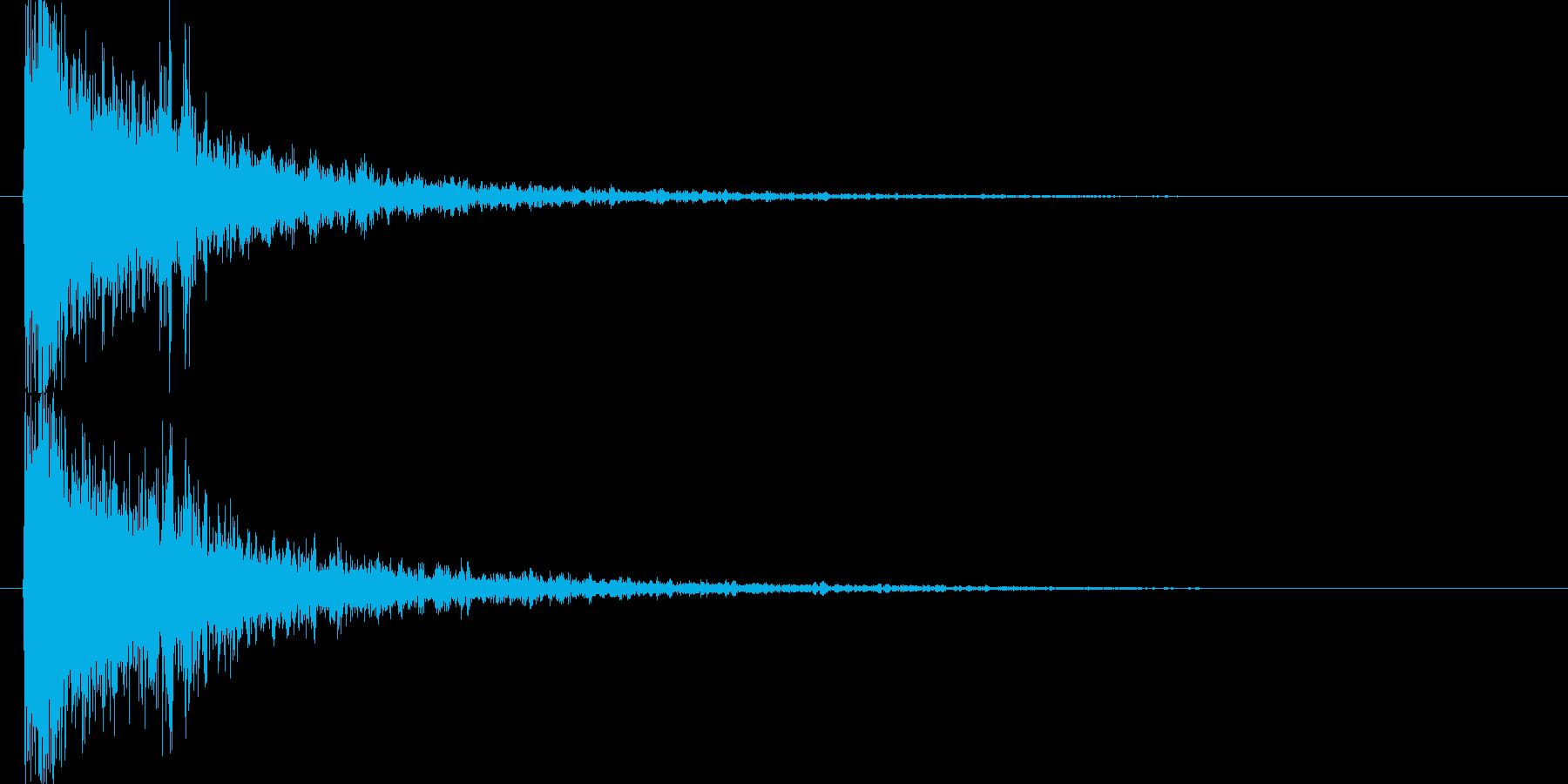 映画告知音145 ドーンの再生済みの波形