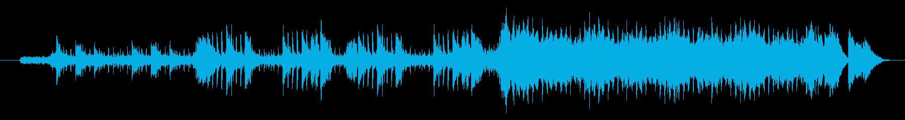 ピアノ、女性ボーカルを使った美しいEDMの再生済みの波形