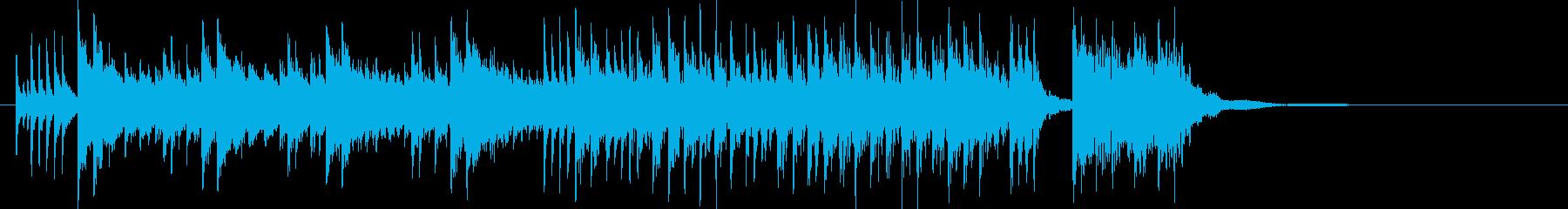 70年代ハードロック的なショートインストの再生済みの波形