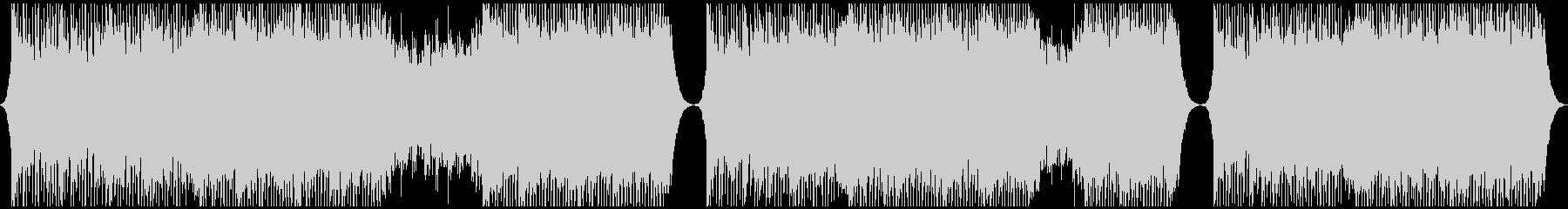 明るいコーポレート系BGMの未再生の波形