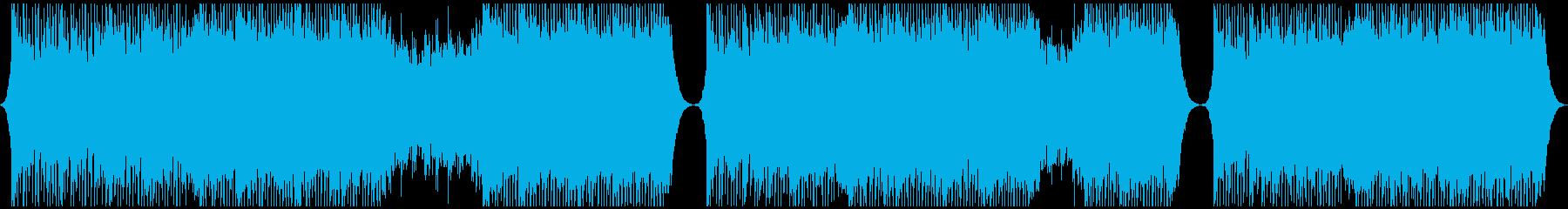 明るいコーポレート系BGMの再生済みの波形