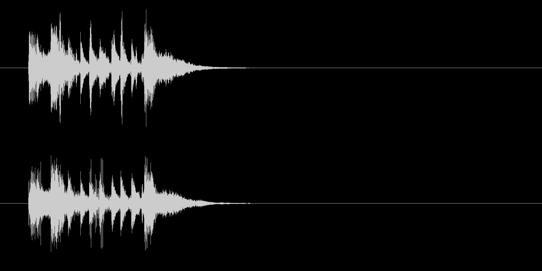 ジングル/実験結果(ラテン)の未再生の波形