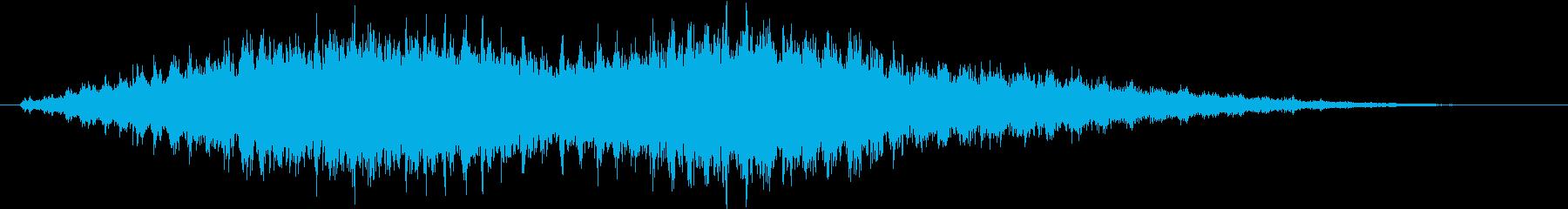 音侍SE「フルフル〜」重めな振り鈴R-Lの再生済みの波形