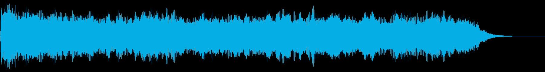 パイプオルガンドローンの再生済みの波形
